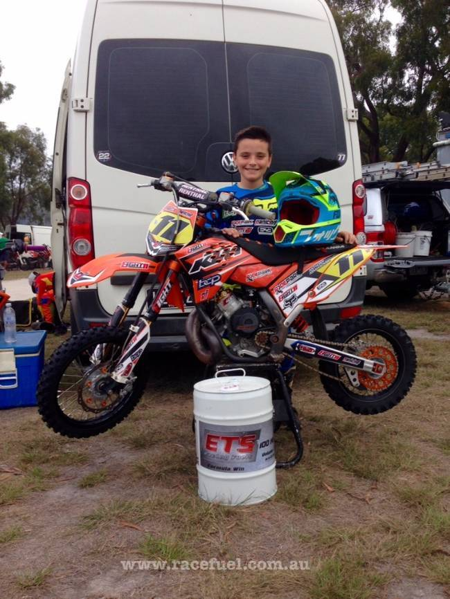 100MA3 ETS Racing Fuel MX Anthony